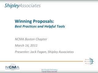 Winning Proposals: Best Practices and Helpful Tools