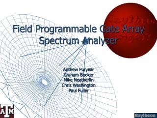 Field Programmable Gate Array Spectrum Analyzer