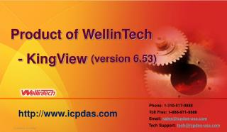 Product of WellinTech   - KingView  (version 6.53)