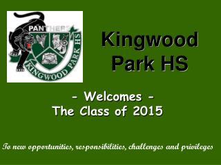 Kingwood Park HS
