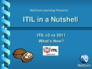 ITIL in a Nutshell