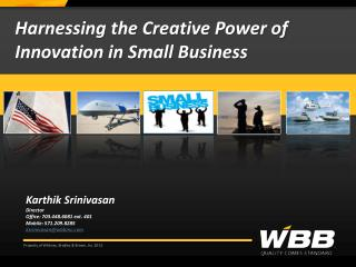 Harnessing the Creative Power of Innovation in Small Business