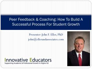Peer Feedback & Coaching: How To Build A Successful Process For Student Growth