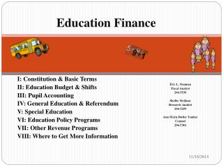 Education  Finance