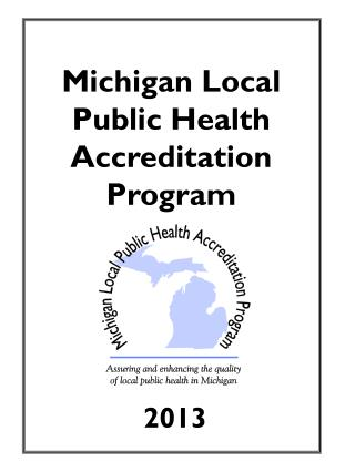 Michigan Local Public Health Accreditation Program