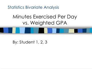 Statistics Bivariate Analysis
