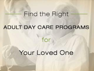 Find the Right Adult Day Care Programs in Bloomington MN