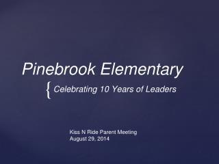 Pinebrook Elementary