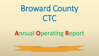 Broward County  CTC