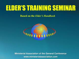 ELDER�S TRAINING SEMINAR