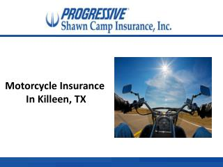 Motorcycle Insurance in Killeen
