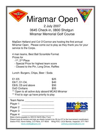 Miramar Open