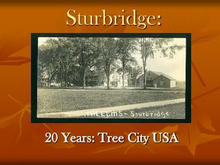 Sturbridge:
