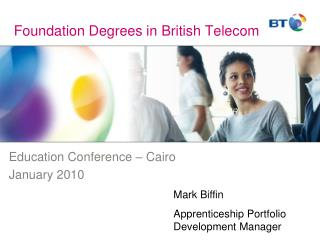 Foundation Degrees in British Telecom