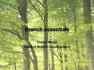 Branch essentials