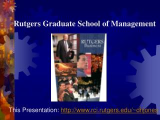 Rutgers Graduate School of Management