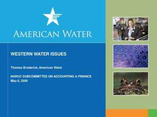 WESTERN WATER ISSUES
