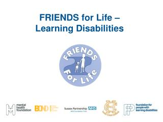 FRIENDS for Life – Learning Disabilities