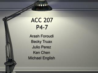 ACC 207  P4-7