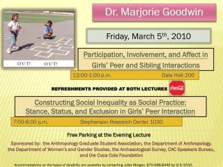 Dr. Marjorie Goodwin