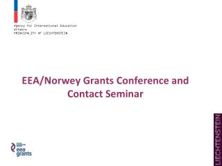 EEA/Norwey Grants Conference and Contact Seminar