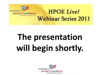 The presentation will begin shortly.