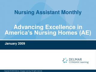 Advancing Excellence in America's Nursing Homes (AE)