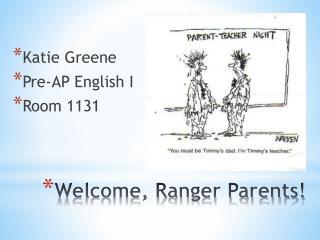Welcome, Ranger Parents!