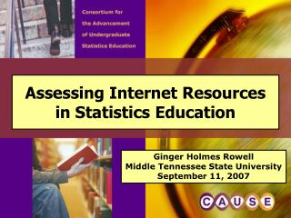Assessing Internet Resources  in Statistics Education