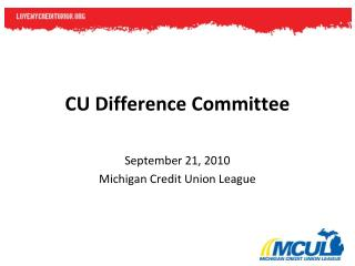 CU Difference Committee
