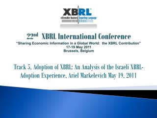 The  Israeli  XBRL Adoption Experience