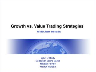 Growth vs. Value Trading Strategies