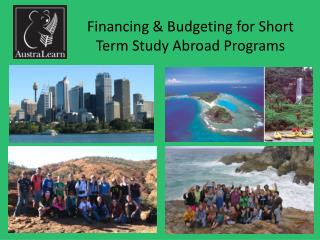 Financing & Budgeting for Short Term Study Abroad Programs