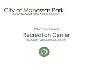 City of Manassas Park