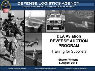 DLA Aviation REVERSE AUCTION PROGRAM