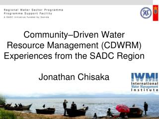 Community-Driven  Water Resource Management  (CDWRM)