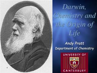Darwin, Chemistry and the Origin of Life