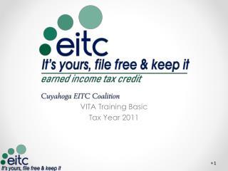 VITA Training Basic Tax Year 2011