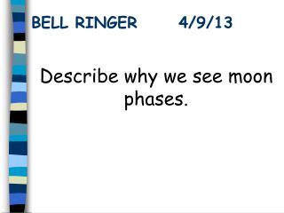 BELL RINGER      4/9/13