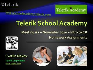 Telerik School Academy