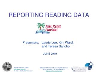 REPORTING READING DATA