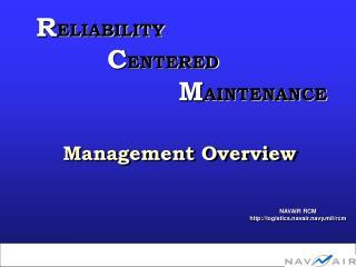 NAVAIR RCM logistics.navair.navy.mil/rcm