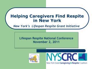 Helping Caregivers Find  Respite in New York