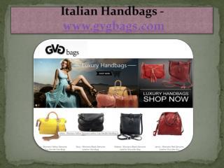 Italian Handbags - www.gvgbags.com