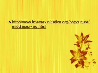 Intersexinitiative