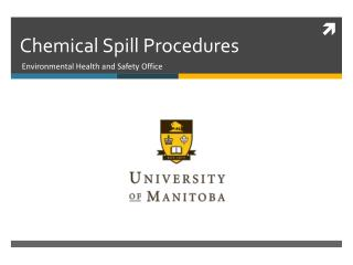 Chemical Spill Procedures