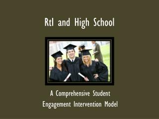 RtI  and High School