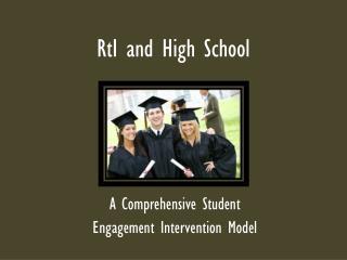 RtI  and High School