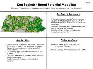 Ken Sochats/ Threat Potential Modeling