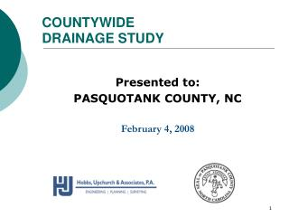 COUNTYWIDE  DRAINAGE STUDY